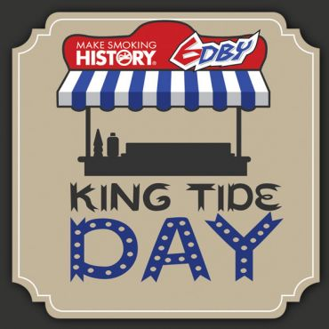 Make Smoking History 6DBY King Tide Day